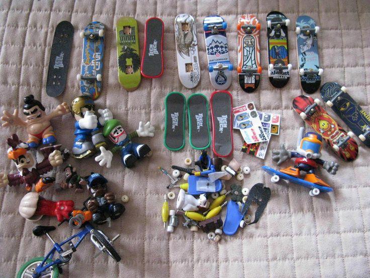 Lot Of Tech Deck Skateboards And Dudes Tech Deck Pinterest