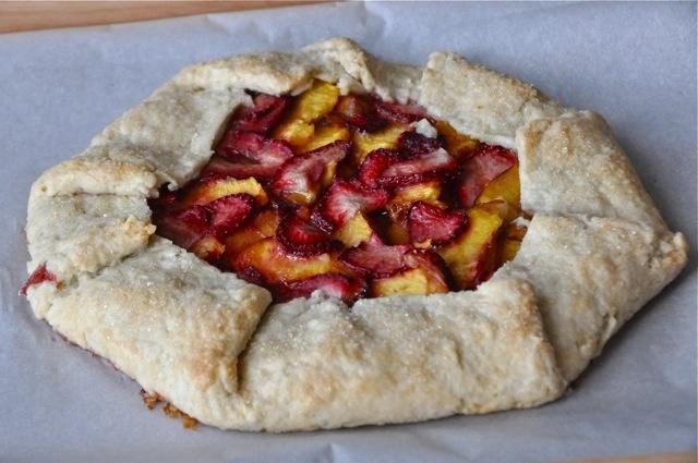 Strawberry Nectarine Galette | Food | Pinterest
