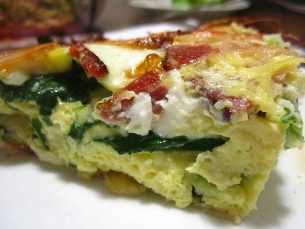 Spinach Pie | Kitchen Tips and Recipes- MINUS the tortilla or use a ...