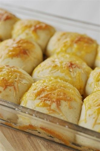 Herbed Cheese 30 Minute Rolls