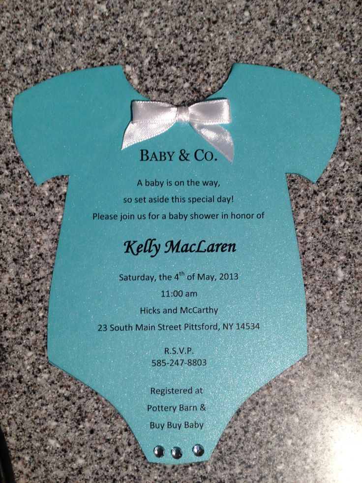 tiffany co baby shower invitation parties pinterest