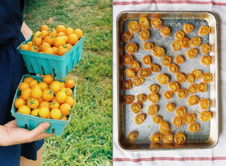 slow roasted tomatoes | food + bev | Pinterest