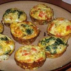 Eggs n Bacon Cupcake | Low carb cooking | Pinterest
