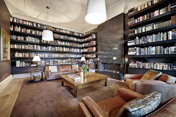 Very Cool Library Amazing Homes Pinterest