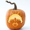 Free Woodland-Theme Pumpkin Stencils