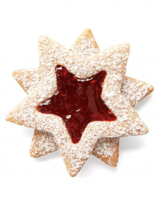 Linzer Stars - Based on the famous Linzer torte, these cookies combine ...