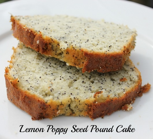 Lemon Poppy Seed Pound Cake...mmmm! | Food | Pinterest