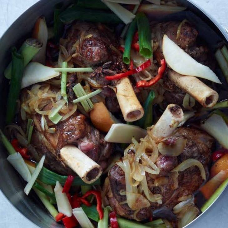 ... lamb shanks and potatoes soy braised lamb shanks recipes dishmaps