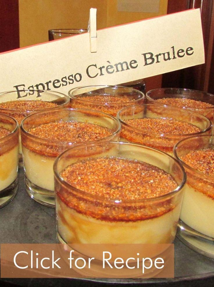 Espresso Cream Brulee Recipe | Dulces recetas | Pinterest
