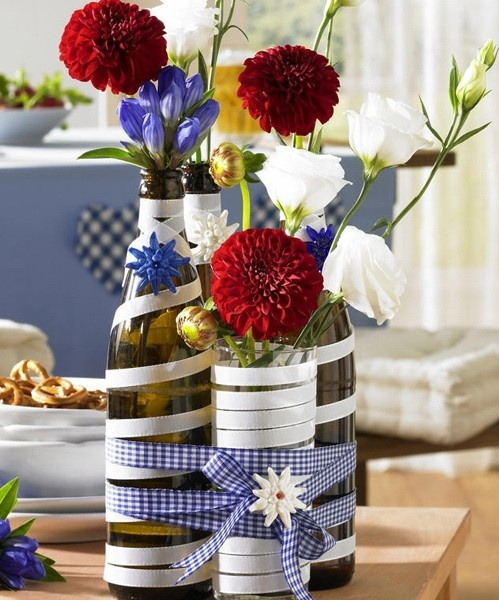 Fourth of July Centerpiece, Party Decor