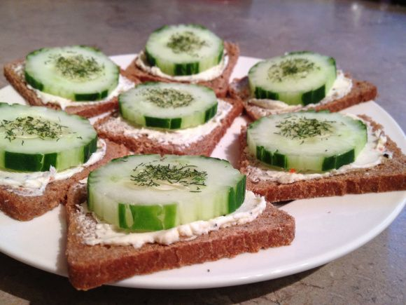 Cucumber Rice Sandwiches Recipe — Dishmaps
