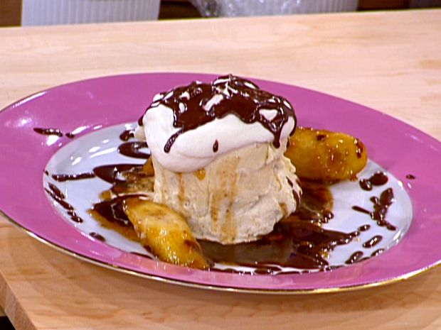 Frozen Caramelized Banana and Chocolate Bombe from CookingChannelTV ...