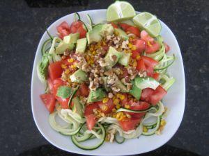 Zucchini Salad | Vege-centric | Pinterest