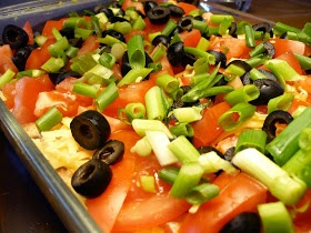 My Inner Chef: Healthified 7-Layer Dip | get in ma belly. | Pinterest