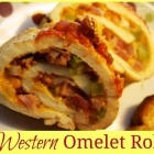 Western Omelet Roll | yummy recipes | Pinterest