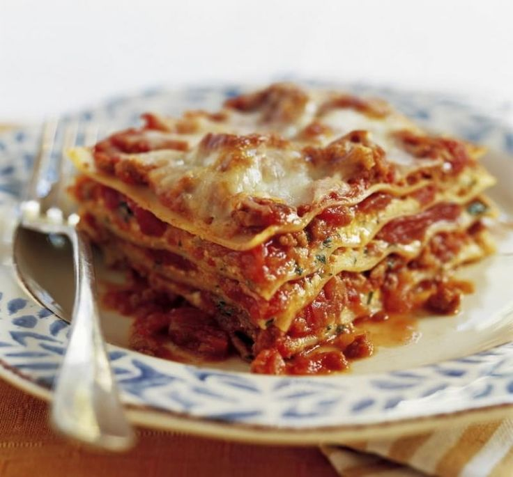 Best-Ever Lasagna Recipe | Pasta | Pinterest