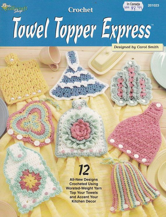Free Crochet Patterns For Kitchen Towel Toppersst Crochet Towel