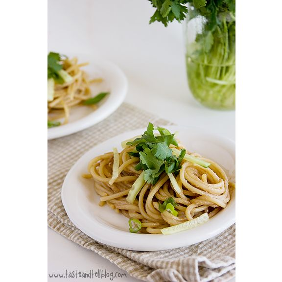 Noodles with BGSK Peanut Sauce - Peanuts are little wonders you can ...