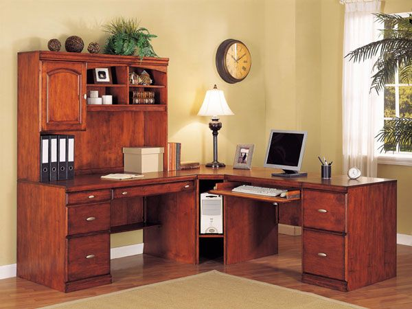 Home Office Corner Computer Desks House Ideas Pinterest