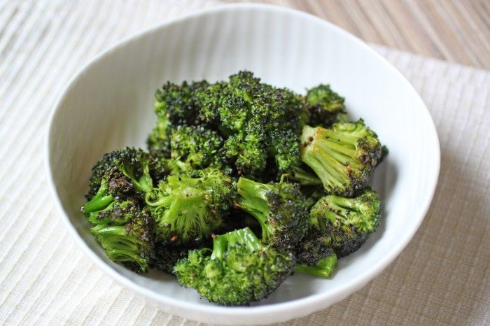 Roasted Broccoli 1 lb Broccoli, florets 1 Tbsp Extra Virgin Olive Oil ...