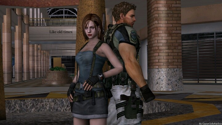 jill valentine e chris redfield