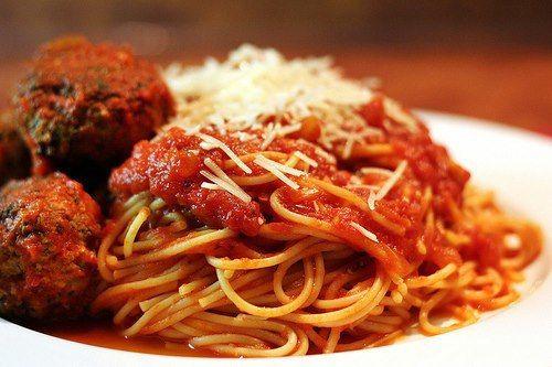 Spaghetti and Meatballs | Italian Cuisine | Pinterest