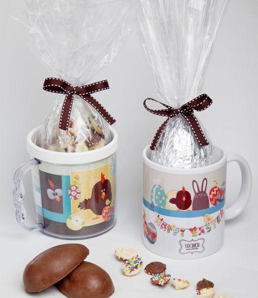 canecas de chocolate para crianças