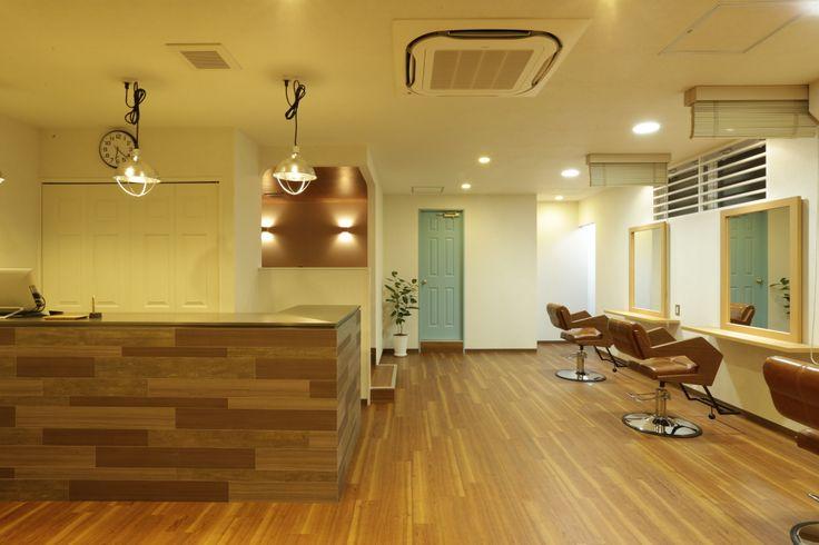 beauty salon interior design ideas hair space decor japan