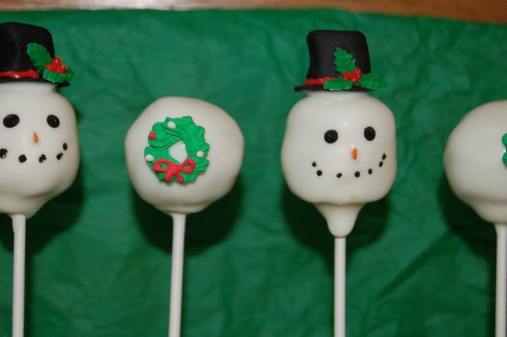 Christmas Cake Pop Ideas Pinterest : Christmas cake pops Cake Pops made by Sweet Morsels, LLC ...