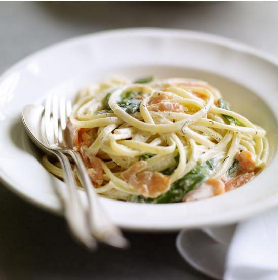 Smoked Salmon Pasta | Pasta, Rice & Bakes | Pinterest