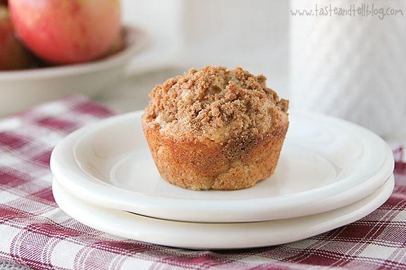 Apple Cinnamon Muffins with Crumb Topping @Deborah Harroun {Taste and ...