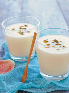 Coconut and Passionfruit Bavarois | Food, Food and more Food. | Pinte ...
