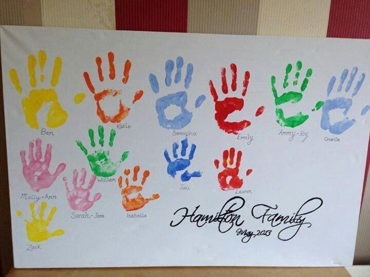 pin handprint and footprint angel craft on pinterest