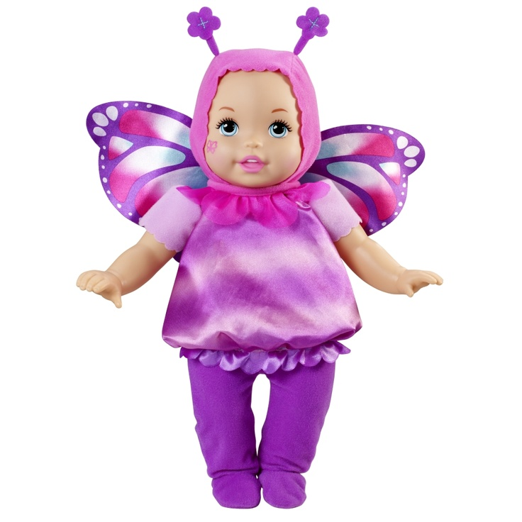 LITTLE MOMMY® DRESS UP CUTIES® Butterfly Doll - Shop.Mattel.com  #savethebunnyGP