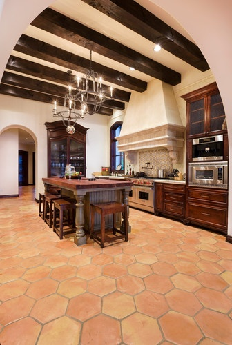 Santa Barbara Mediterranean Kitchen My Dream Home