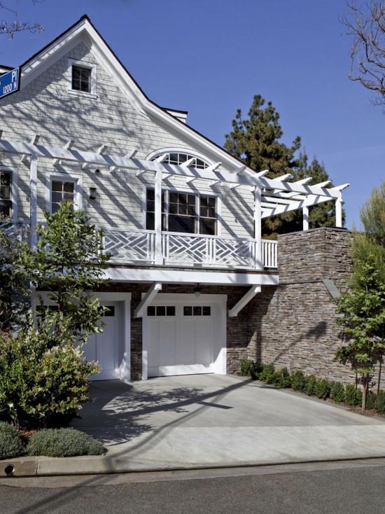 Hillside Garage Homes Pinterest