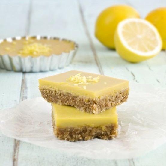 Healthy Vegan Meyer Lemon Bars | Food ~ baked (deserts?) | Pinterest