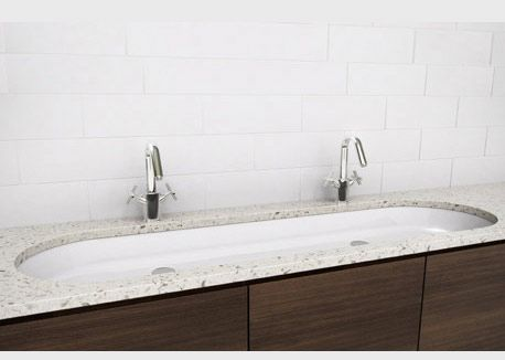 Long Undermount Bathroom Sink : ... Undermount Bathroom Sinks with American Standard Undermount Bathroom