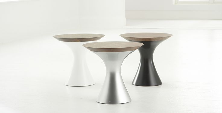 martini walnut side table hightower project hotel pinterest