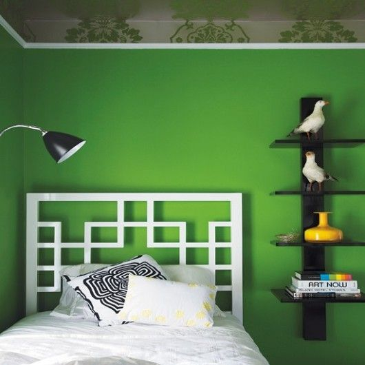 Green black and white bedroom kids room pinterest - Green black white bedroom ...