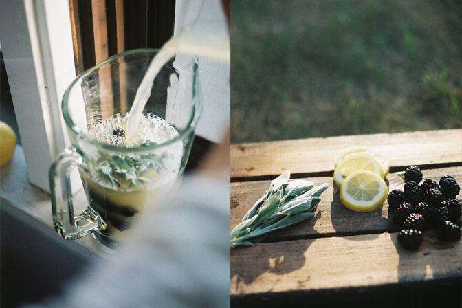 Blackberry Sage Lemonade | Recipes | Pinterest