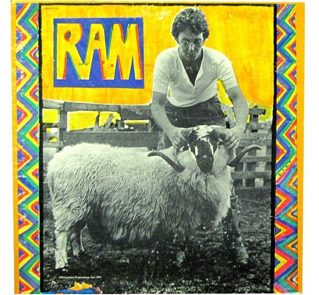 paul mccartney ram album cover art pinterest