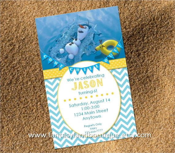"""99 Great for swimming parties or any """"OLAF"""" / """"FROZEN"""" themed party"""