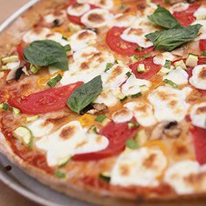 Garden Pizza | Recipes Pizza | Pinterest
