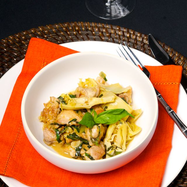 Lemon Chicken with Artichokes | Easy Weeknight Dinners | Pinterest