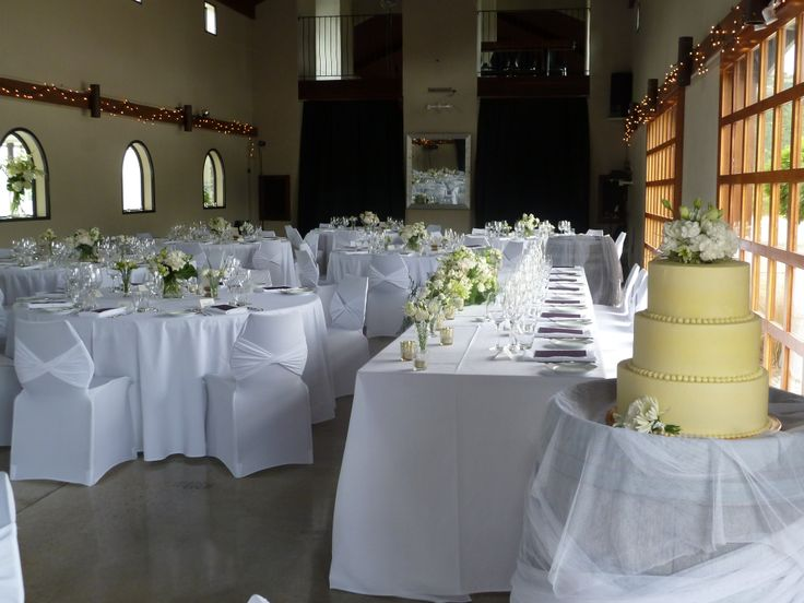 ... Wedding cake Queenstown Venue New Zealand Chair covers and bands by