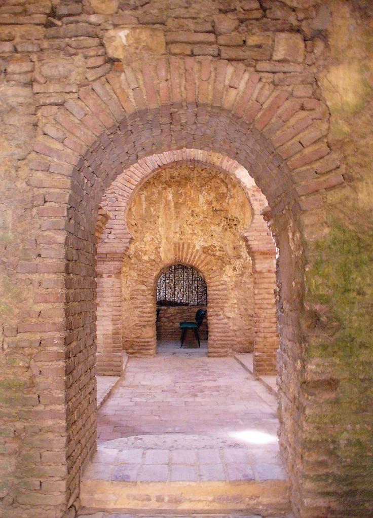 Baños Arabes Andalucia:Banos arabes, Ronda, Andalucia