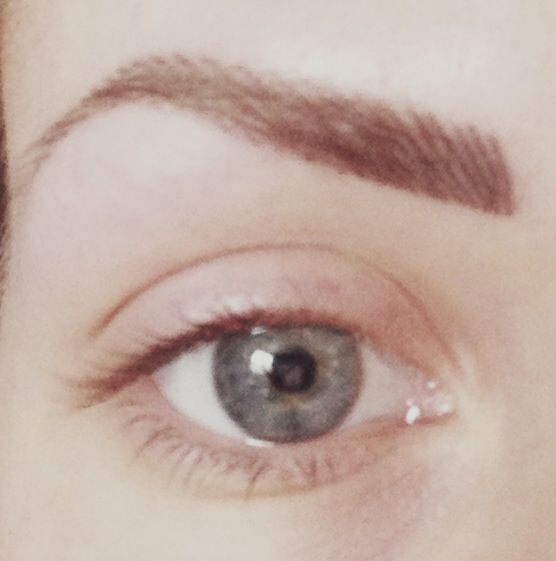 Eyebrow tattoo so natural tattoo pinterest for Natural eyebrow tattoo