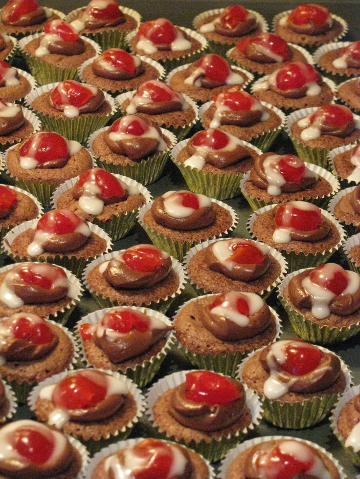 Chocolate cherry bombs   Sweets for the sweet!   Pinterest