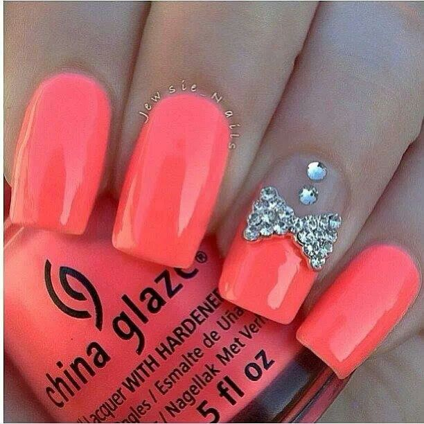 22 outstanding Neon Pink Nail Designs – ledufa.com